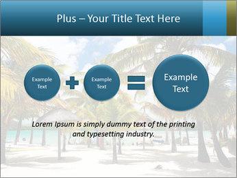 Beautiful tropical beach PowerPoint Template - Slide 75