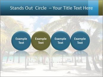 Beautiful tropical beach PowerPoint Template - Slide 76