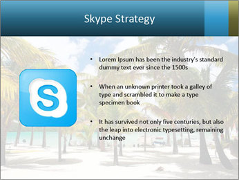 Beautiful tropical beach PowerPoint Template - Slide 8