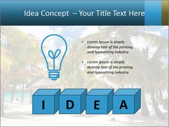 Beautiful tropical beach PowerPoint Template - Slide 80