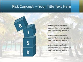 Beautiful tropical beach PowerPoint Template - Slide 81