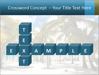 Beautiful tropical beach PowerPoint Template - Slide 82