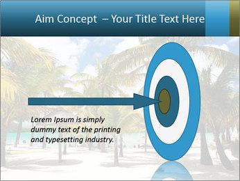 Beautiful tropical beach PowerPoint Template - Slide 83