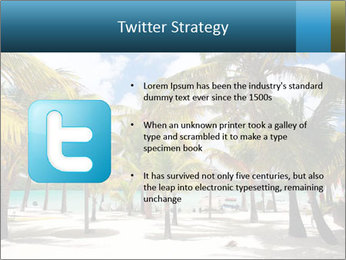 Beautiful tropical beach PowerPoint Template - Slide 9
