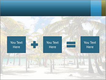 Beautiful tropical beach PowerPoint Template - Slide 95