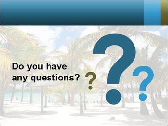 Beautiful tropical beach PowerPoint Template - Slide 96