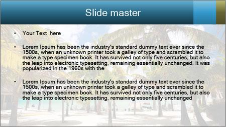 Beautiful tropical beach PowerPoint Template - Slide 2