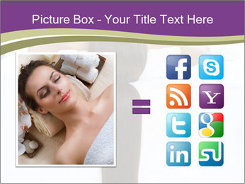 Woman on spa bed PowerPoint Templates - Slide 21