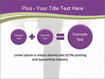 Woman on spa bed PowerPoint Templates - Slide 75