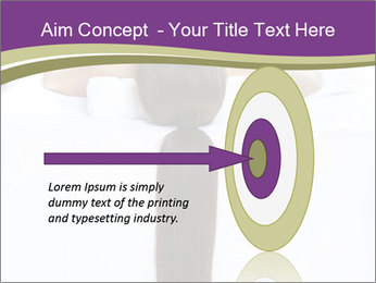 Woman on spa bed PowerPoint Templates - Slide 83