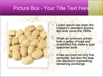 Heap of dry rolled oats PowerPoint Template - Slide 13