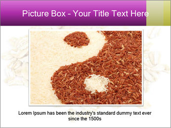 Heap of dry rolled oats PowerPoint Template - Slide 16