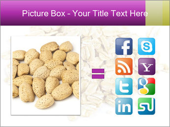 Heap of dry rolled oats PowerPoint Template - Slide 21