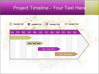 Heap of dry rolled oats PowerPoint Template - Slide 25