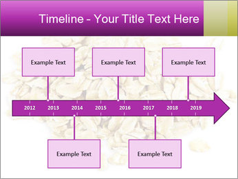 Heap of dry rolled oats PowerPoint Template - Slide 28