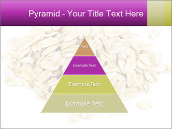 Heap of dry rolled oats PowerPoint Template - Slide 30