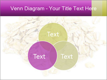 Heap of dry rolled oats PowerPoint Template - Slide 33