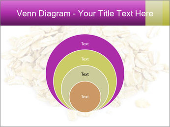 Heap of dry rolled oats PowerPoint Template - Slide 34