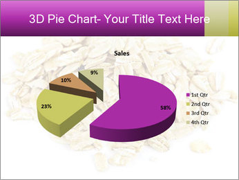 Heap of dry rolled oats PowerPoint Template - Slide 35