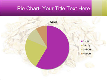 Heap of dry rolled oats PowerPoint Template - Slide 36