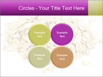 Heap of dry rolled oats PowerPoint Template - Slide 38