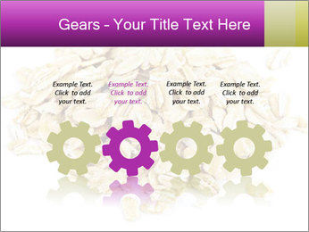 Heap of dry rolled oats PowerPoint Template - Slide 48