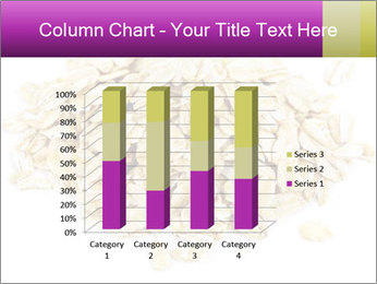 Heap of dry rolled oats PowerPoint Template - Slide 50