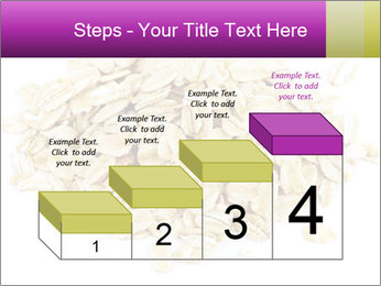 Heap of dry rolled oats PowerPoint Template - Slide 64