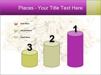 Heap of dry rolled oats PowerPoint Template - Slide 65