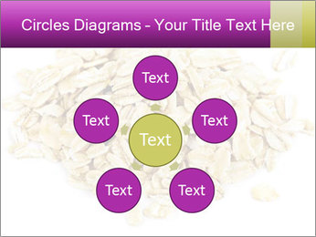 Heap of dry rolled oats PowerPoint Template - Slide 78