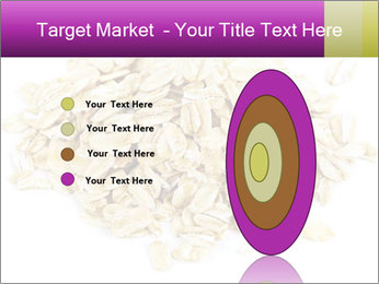 Heap of dry rolled oats PowerPoint Template - Slide 84