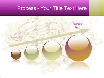 Heap of dry rolled oats PowerPoint Template - Slide 87