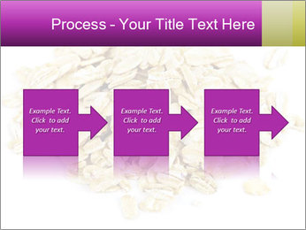 Heap of dry rolled oats PowerPoint Template - Slide 88