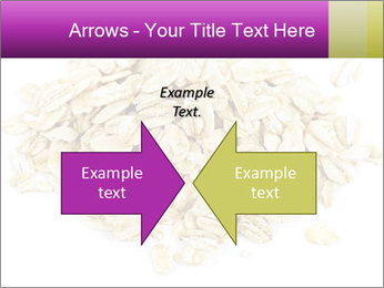 Heap of dry rolled oats PowerPoint Template - Slide 90
