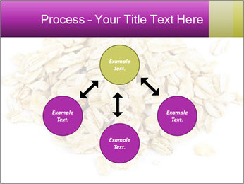 Heap of dry rolled oats PowerPoint Template - Slide 91