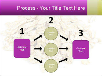 Heap of dry rolled oats PowerPoint Template - Slide 92