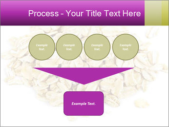 Heap of dry rolled oats PowerPoint Template - Slide 93