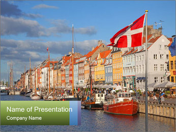 A sunny summer day PowerPoint Template - Slide 1