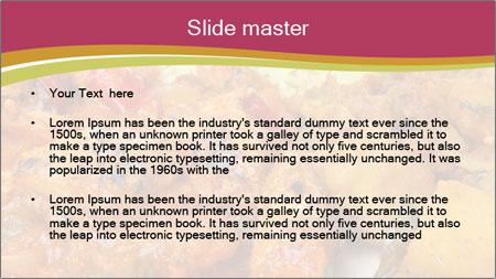 Indian chicken PowerPoint Template - Slide 2