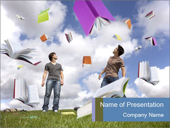 Teenager PowerPoint Template