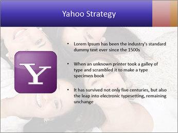 Group of women lying PowerPoint Template - Slide 11