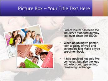 Group of women lying PowerPoint Template - Slide 20