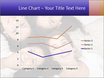 Group of women lying PowerPoint Template - Slide 54