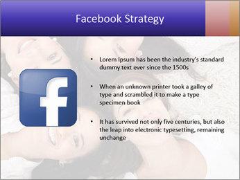 Group of women lying PowerPoint Template - Slide 6