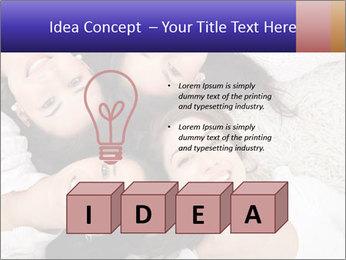 Group of women lying PowerPoint Template - Slide 80