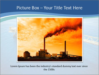 Oil refinery PowerPoint Template - Slide 15