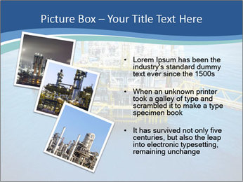 Oil refinery PowerPoint Template - Slide 17