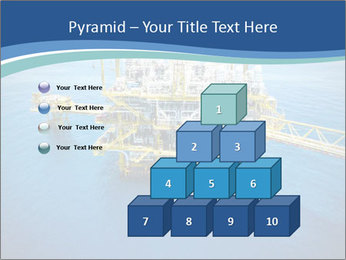Oil refinery PowerPoint Template - Slide 31