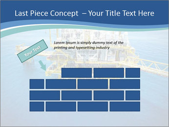 Oil refinery PowerPoint Template - Slide 46