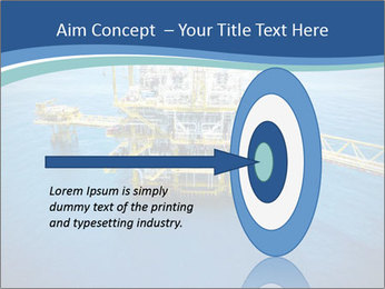 Oil refinery PowerPoint Template - Slide 83